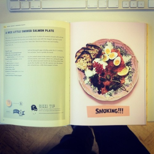 Salmon Plate from @gizzierskine