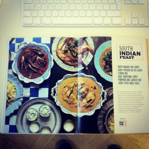 South Indian Feast from @gizzierskine