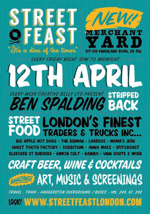 Street Feast Poster